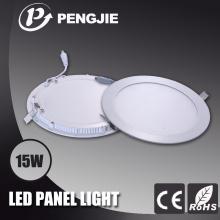 Lampe de plafond en aluminium blanc 15W pour plafonnier intérieur