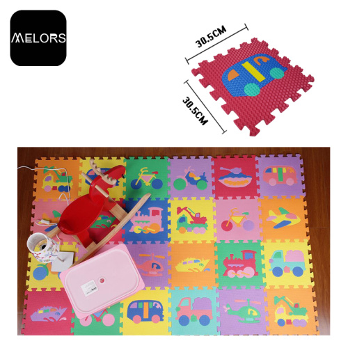 Traffic Puzzle Mat Mainkan Puzzle Mat