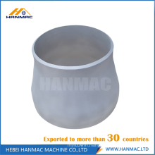 Aluminum reducer pipe fittings
