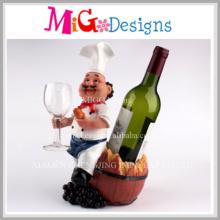 Fashionable Elegant Lovely Wine Bottle Rack for Kitchen Decoration