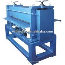 color coated steel embossing machine