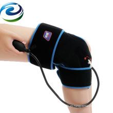 Paquete de hielo reutilizable del gel de la rodilla del color negro laminado del terciopelo del PVC certificado 2018 de la FDA