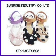 SR-13CFS608 2014 china wholesale shoes girls flat sandals new design cool girls flat sandals fashion high quality girl sandals
