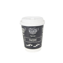 cheap takeaway coffee cups_paper coffee cups with lids_colourful paper cups