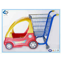 Good Quality Baby Shopping Trolleys with Plastic Toy Car