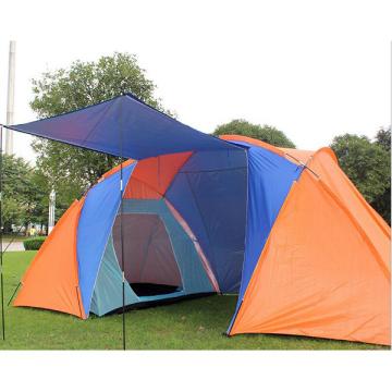 Zwei Schlafzimmer im Freien kampierendes doppeltes regendichtes Katastrophenentlastungs-Zelt