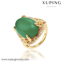 13135- China Großhandel Xuping Mode 18 Karat Gold Frau Ring