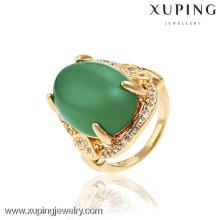 13135- Venta al por mayor de China Xuping Moda 18K Anillo de mujer de oro