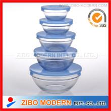 Набор стеклянной чаши 5PC для духовки