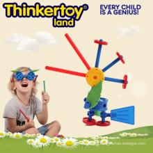 Дети собрались и игрушка Dragonfly Puzzle модель