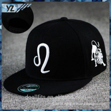 12 constellation 5 panel snapabck cap with 3D emboridery made in china