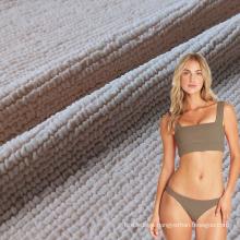 Jdttex New arrival 8%spandex 92%nylon seersucker texture bikini swimwear fabric