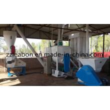 Línea de la máquina que hace la alimentación de la pelotilla del pollo de las aves de corral 1000kg / H