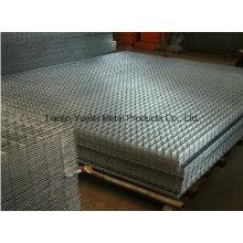 Алмазная проволочная сетка, электросварная оцинкованная сварная сетка, расширенная сетка для строительства