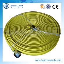 Flat High Pressure Mantex Air Hose for Irrigation and Compressor