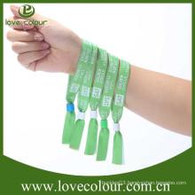 New design VIP fabric custom personalised wristbands