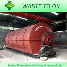 máquina de reciclaje de neumáticos de desecho altamente rentable