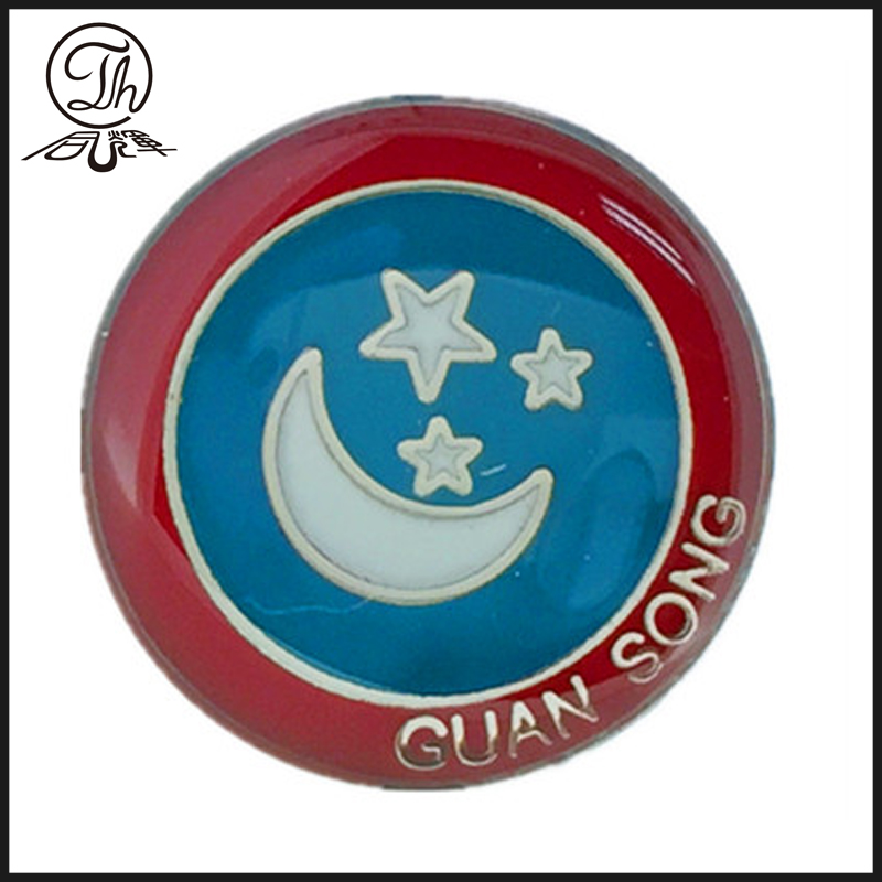 moon and star pin