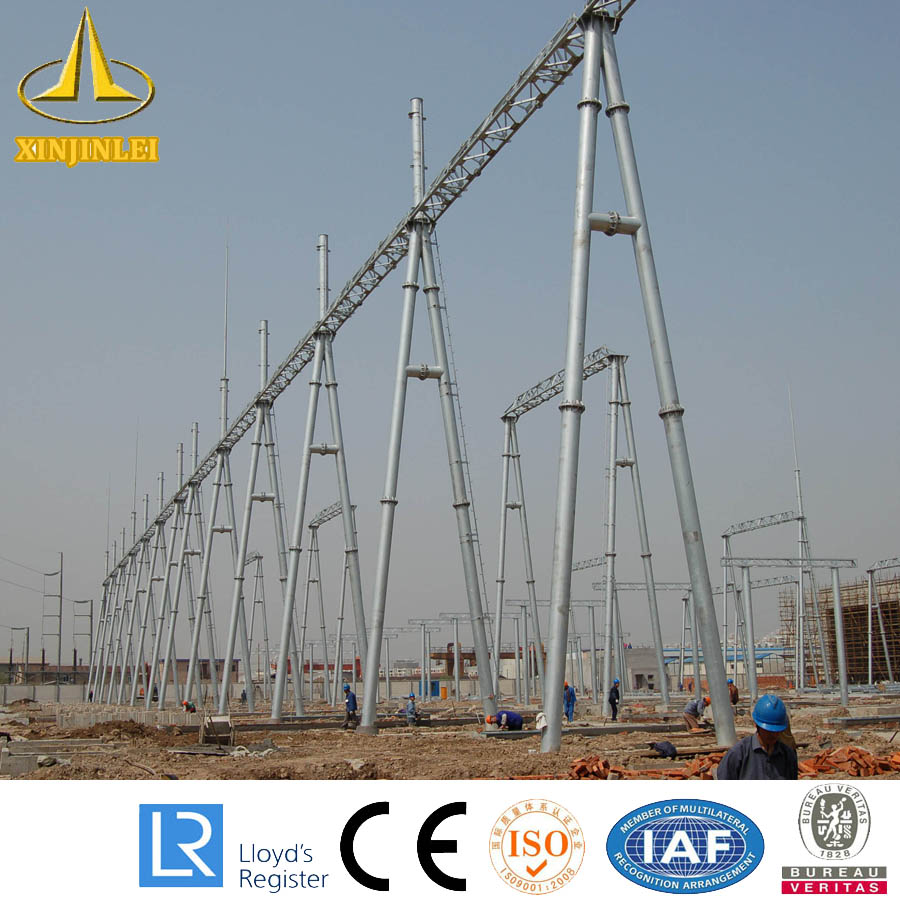 Subestación Steel Pole Power Structure Design Guide