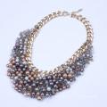 Perlas collar burbuja del aterrizaje