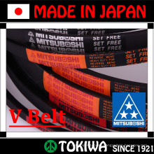 Mitsuboshi Belting energy saving and efficient e-POWER raw edge cogged V-Belt. Made in Japan