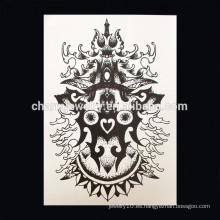 OEM Venta al por mayor Corona imperial tatuaje parte de tatuaje de brazo tatuaje de brazo grande W-1008