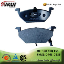 non-asbestos ,OE quality, hot sales auto parts Chinese manufacturer (OE NO.: 1J0 698 151/ D768-7635)