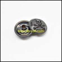 Bouton-pression avec logo crâne