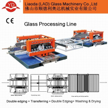 Référence du fabricant verre verre Horizontal Double bordure de Machine de transformation