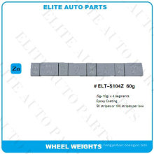 Poids d'équilibrage de roue pour roue de voiture (ELT-5104Z)
