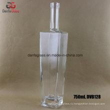 750мл прямоугольные бутылки для бутылок из стекла и прямоугольника