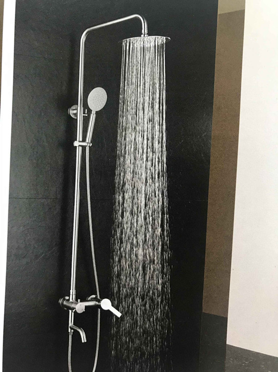 Stainless Steel Brass Shower Mixers