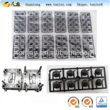 the plastic function of the audio button injection mould
