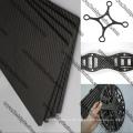 Kundengebundene CNC-Glasfaser-Blätter, die für Drones Frames schneiden