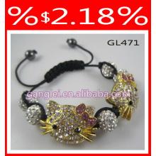 hello kitty bracelet shamballa bracelet