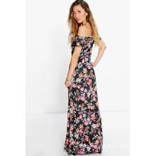 Flora off Shoulder Women Maxi Dress