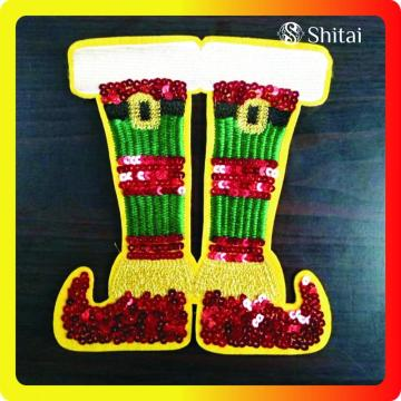 OEM chrismas patch shoes