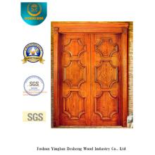 Doppeltür im klassischen Stil für Außen (s-1020)