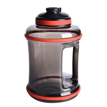 2.5L Garrafa De Água De Grandes Esportes Com Silicone, Garrafa De Água Bebida Com Punho