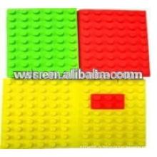tapis de caoutchouc de silicone moulé
