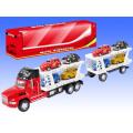Big fricção de Natal Crianças veículo Toy Truck com 8 pequenos carros para meninos (10206796)