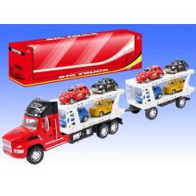 Weihnachten große Reibung Kinderfahrzeug Spielzeug LKW mit 8 Kleinwagen für Jungen (10206796)