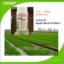 Engrais organique organique liquide au silicium pour le coton / le riz / le blé