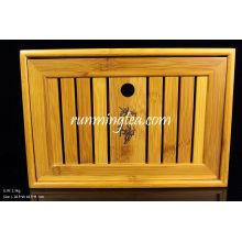 Mesa de té pequeña de bambú