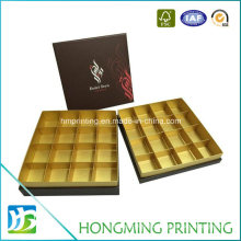 Fancy Printed Paper Chocolate Boxes with Divider
