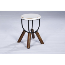 Industrial Best Quality White Color Wooden Stool