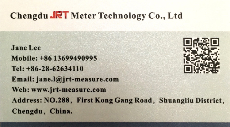 JRT Measure contact info