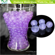 Purple Glitter Crystal Soil Water Beads Centros de mesa Decoraciones de la boda