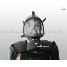 máscara de gás de borracha