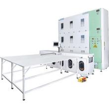 Máquina automática de enchimento para camas de penas